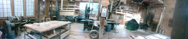 Wood working at Silver Dollar City